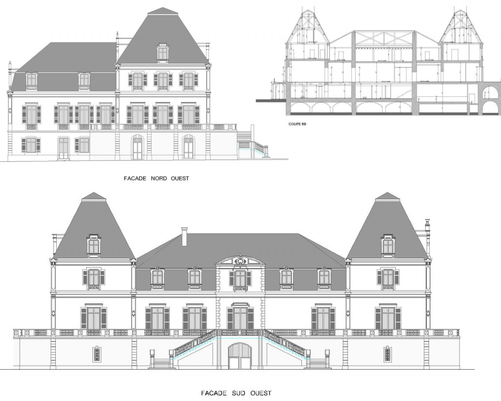 Releves batiments - Archiservice - Dijon